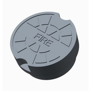 PROSELECT® 5-1/4 in. Cast Iron Valve Box Lid IVBLIDF at Pollardwater