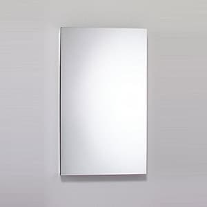 Robern M Series 39-3/8 in. Surface Mount and Recessed Mount Medicine Cabinet in Satin Anodized Aluminum RMC2440D4FPRE2