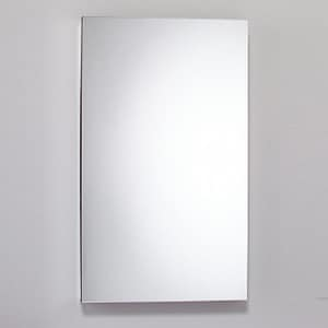 Robern M Series 39-3/8 in. Surface Mount and Recessed Mount Medicine Cabinet in Satin Anodized Aluminum RMC2440D6FPLE4