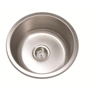 PROFLO® Round Undermount Kitchen Sink with Center Drain in ...