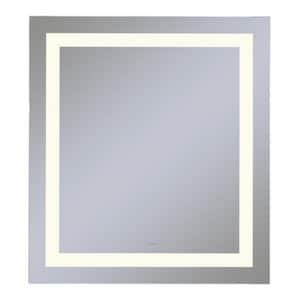 Vitality 30 x 40 in. 2700K Anodized Aluminum Frameless Rectangle Mirror with Light Inset RYM3040RIFPD