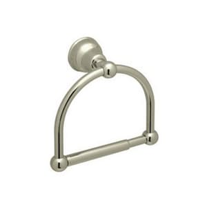 ROHL® Arcana 6-1/4 in. Wall Mount Toilet Tissue Holder in Satin Nickel RCIS16STN