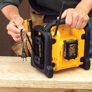 DEWALT 18V/20V/12V Compact Worksite Radio DDCR018 at Pollardwater