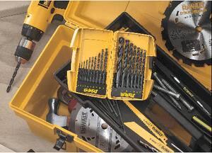 DEWALT 17-Piece Black Oxide Drill Bit Set DDW1167 at Pollardwater