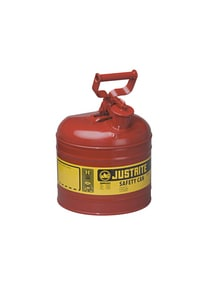 Justrite Type I Safety Can Type I 2 gal with Self Close Lid J7120100 at Pollardwater