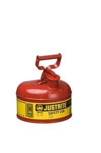 Justrite Type I Safety Can Type I 1 gal with Self Close Lid J71100