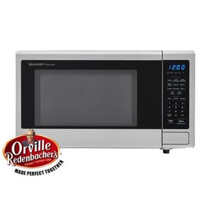 Sharp Electronics Sharp® 1.1 cf 1000W Countertop Microwave Oven in Stainless Steel SSMC1132CS
