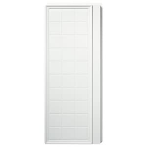 Sterling Ensemble™ Shower End Wall Set with Tile Design in White S721051060