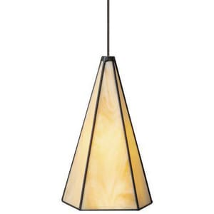 Tech Lighting WMT Parker 8 in. 50W 1-Light Medium Bi-Pin Base Pendant in Antique Bronze T600MOPRKCZ