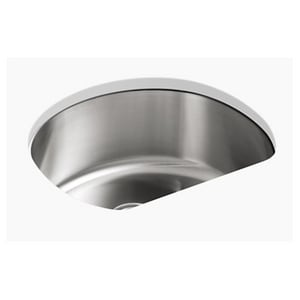 Sterling McAllister® 23-5/8 x 21 in. Stainless Steel Single ...