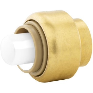 Jones Stephens Plumbite® 3/4 in. Push 200 psi Brass Cap JC77451LF at Pollardwater