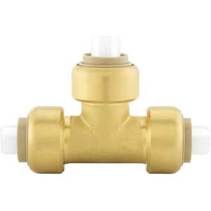 Jones Stephens Plumbite® 1 x 1 x 3/4 in. Push 200 psi Reducing Brass Tee JC77446LF at Pollardwater