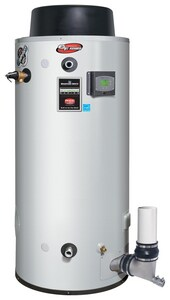 Bradford White eF Series® 119 gal High Efficiency and Tall 39.9 MBH Commercial Natural Gas Water Heater BEF120T4003NA