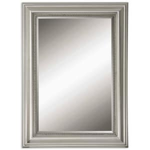 Uttermost Company Stuart 37 in. Beveled Mirror in Silver Leaf U12005B