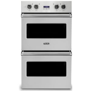 Viking Range Professional 5 Series 29-1/2 in. Electric Double Thermal Convection Oven in Stainless Steel VVDOE130SS