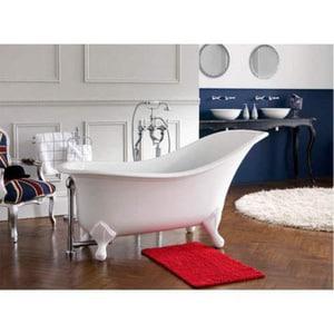 Victoria & Albert Bath Drayton Slipper Tub in Quarrycast White VDRANSW