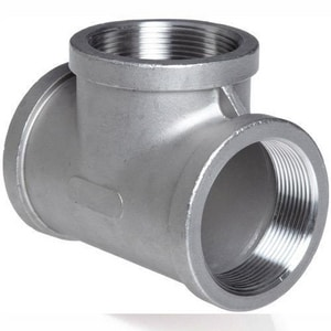 2 in. No-Hub Straight and Seamless Schedule 10 Alloy Steel Tee DH1C276STKE