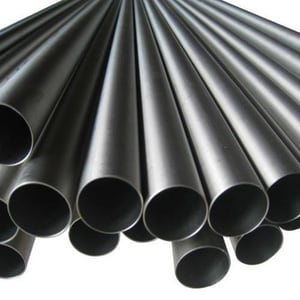 3 in. Schedule 40 Black Coated Plain End Carbon Steel Pipe DBPPEA53BBAREM