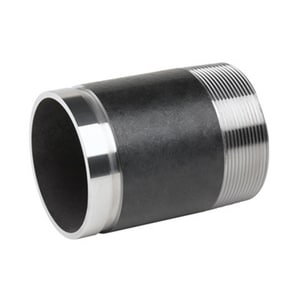 5 x 12 in. Grooved Schedule 40 304 Stainless Steel Nipple DS44GNS12