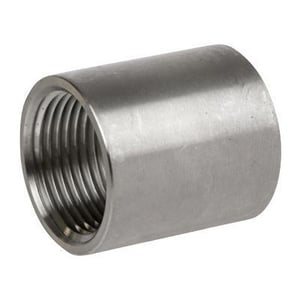 1-1/2 x 1-1/4 in. Threaded 150# Reducing 316 Stainless Steel Coupling DS6BSTCSP114