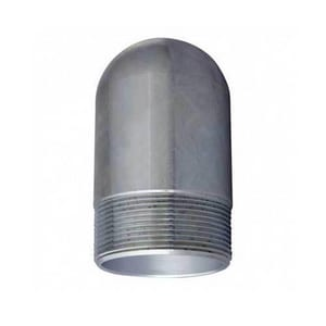 3/4 in. 3000# Threaded 316L Stainless Steel Bull Plug DS6L3TBPFE