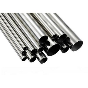 12 in. Schedule 80 Black Stainless Steel Plain End Seamless Double Random Pipe DPA1068DRL12