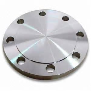 6 in. Raised Face and Blind 150# 316L Stainless Steel Flange DS6LRFBFUE