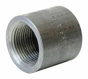 1 in. Threaded Forged Steel Cap FSTCAPE