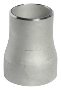 1-1/2 x 1-1/4 in. Schedule 10 Concentric Seamless 304L Stainless Steel Reducer DS14LSCRJHE