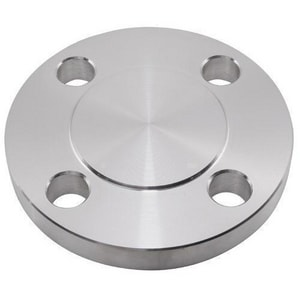 1/2 in. Blind 300# 304L Stainless Steel Raised Face Flange IS3004LRFBFD