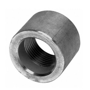 1 in. Threaded 3000# 304L Stainless Steel Half Coupling IS4L3THCE