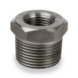 3 x 1-1/2 in. Threaded Reducing Hot Dipped Galvanized Forged Steel Hex Bushing IHDFSTBMJ
