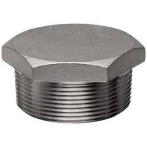 1/8 in. Threaded 3000# 316L Stainless Steel HEX Plug IS6L3THPA
