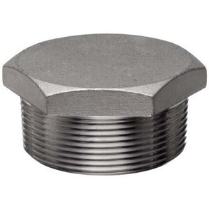 3/4 in. 3000# 316L Stainless Steel Threaded HEX Plug IS6L3THPFO