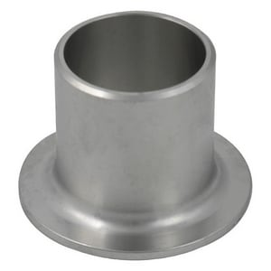 3 in. Schedule 10 304L Stainless Steel Seamless Stub End IS14LSSEAM