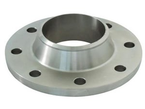4 in. 150# Schedule 10 Flat Face Weld Neck 316L Stainless Steel Flange IS6LFFWNF10BPE