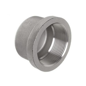 1/2 in. Threaded 3000# Hot Dipped Galvanized Forged Steel Cap IHDFSTCAPD