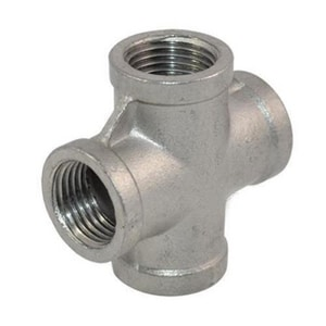 1-1/2 in. 304L Threaded Stainless Steel Cross IS4L3TCRJ