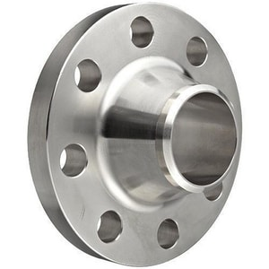 1-1/2 in. Weldneck 150# Schedule 10 304L Stainless Steel Global Raised Face Flange IS4LRFWNF10BJ