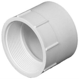 4 in. Slip x Female Straight Schedule 40 PVC Adapter IP40SFAP