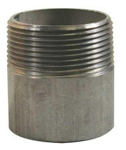 3/4 x 6 in. Threaded 316L Stainless Steel Nipple IS46LNTOEFUE