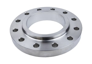 4 in. Slip-On 150# Thick Drill Plate 304L Stainless Steel Flange IS4LSOPFIPSPD