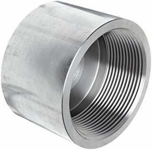3/8 in. Threaded 304L 304L Stainless Steel Cap IS4L3TCAPC