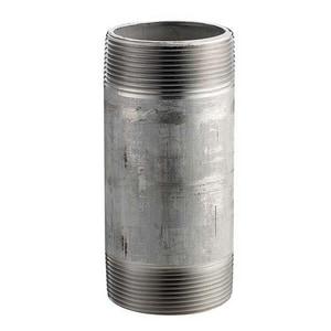 1 x 3-1/2 in. Schedule 80 Seamless 316L Stainless Steel Nipple IS86LSNGNE