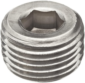 Threaded 150# 304L Stainless Steel Hex Countersunk Plug IS4CTCSP