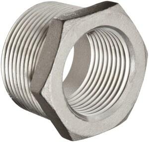 4 x 1-1/2 in. Threaded 150# 304L Stainless Steel Bushing IS4CTBPJ