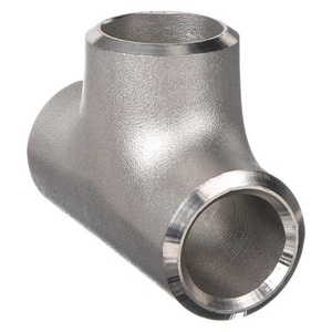 2 x 2 x 1 in. Schedule 10 316L Stainless Steel Seamless Reducing Tee IS16LSTKKGE