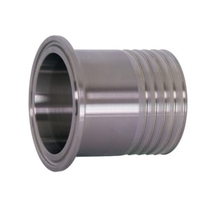 1-1/2 in. Clamp x Hose 304L Stainless Steel Adapter G14MPHR74