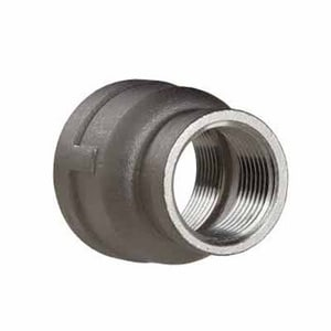 1/2 x 3/8 in. Threaded 3000# Reducing 304L Stainless Steel Coupling IS4L3TRDC
