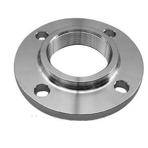 1-1/2 in. 150# Threaded Stainless Steel Flange IS6LRFTFJE